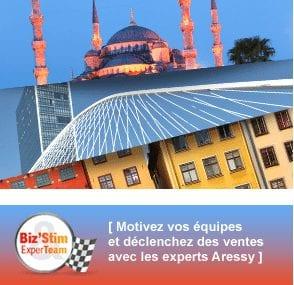 Incentive voyages Aressy succès destinations