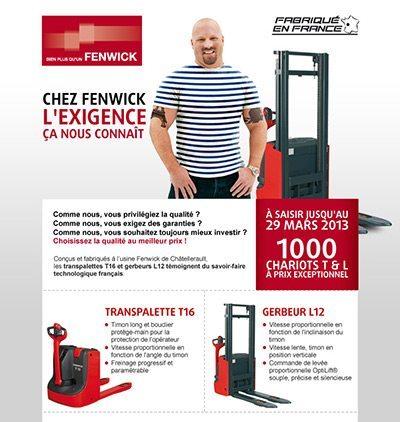 Box Marketing Fenwick par Aressy