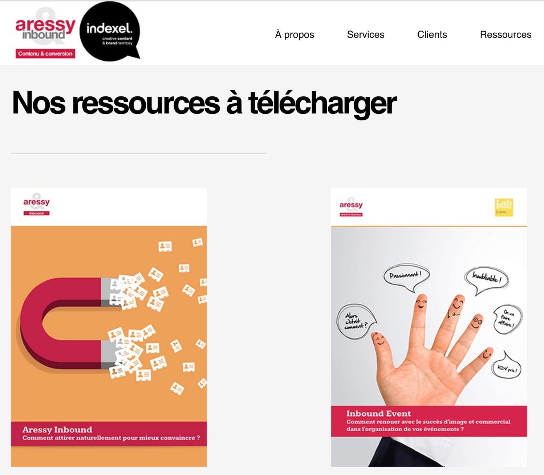 Téléchargez les E-book Inbound Marketing et Inbound Event proposés par Aressy