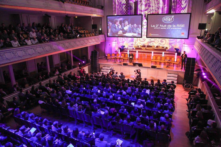 cérémonie 2015 Aressy Awards
