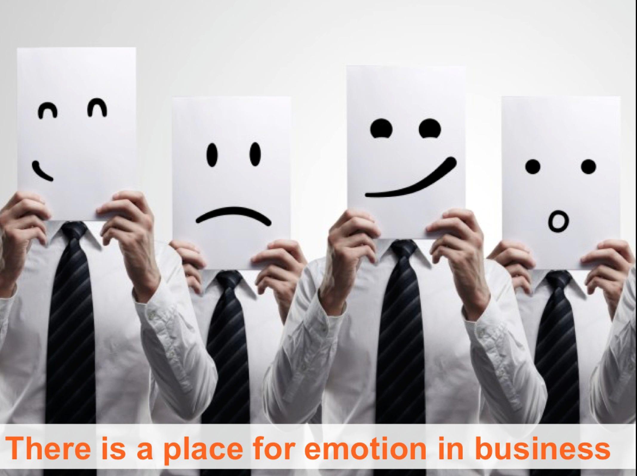 emotion in btob
