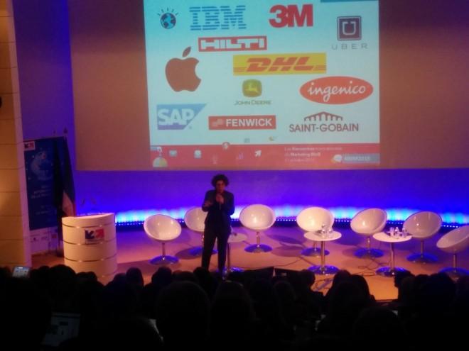 Présentation d'Iria Marquès à l'occasion des Premières Rencontres Internationales du Marketing BtoB — Paris / Octobre 2015