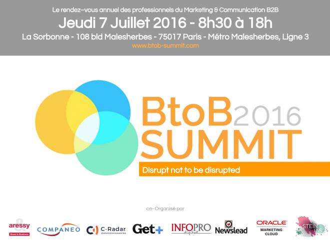 B2B Summit 2016