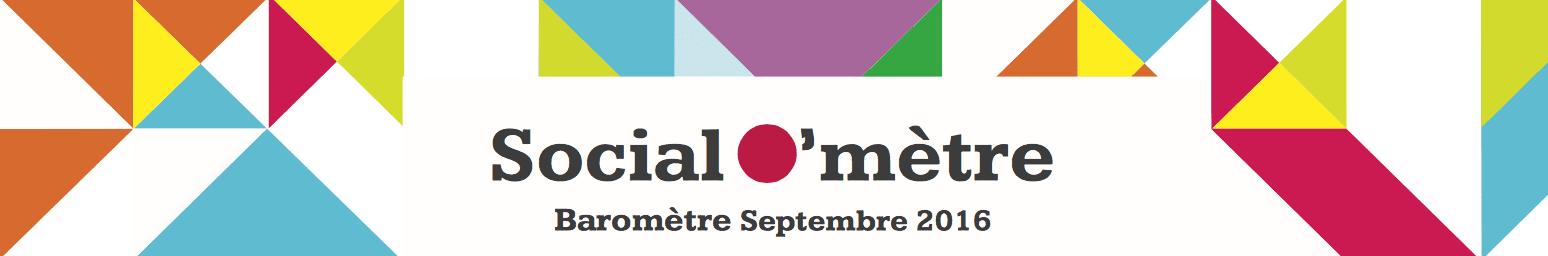 Social O'mètre : Découvrez le classement du mois de septembre