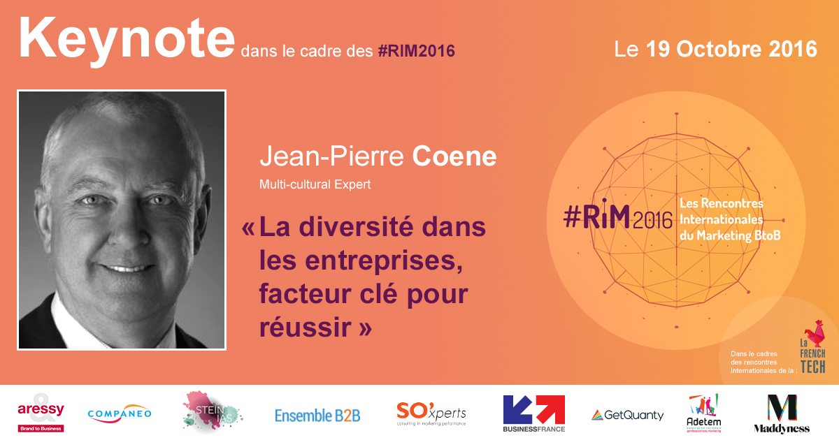 #RIM2016 - Keynote de jean-Pierre Coene