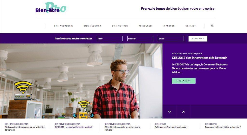 Pour Darty Pro, Aressy lance le Webzine Bien-être Pro !