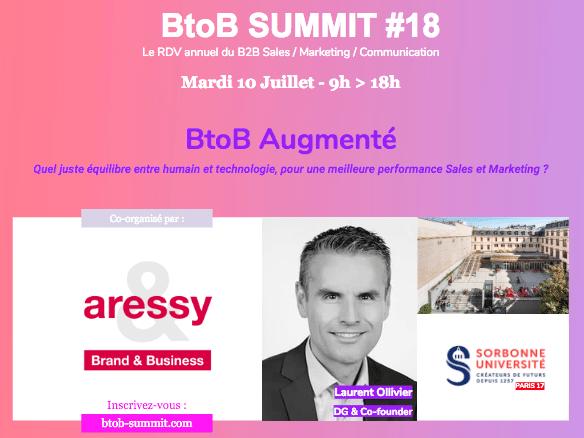 BtoB Summit 18 Laurent Ollivier