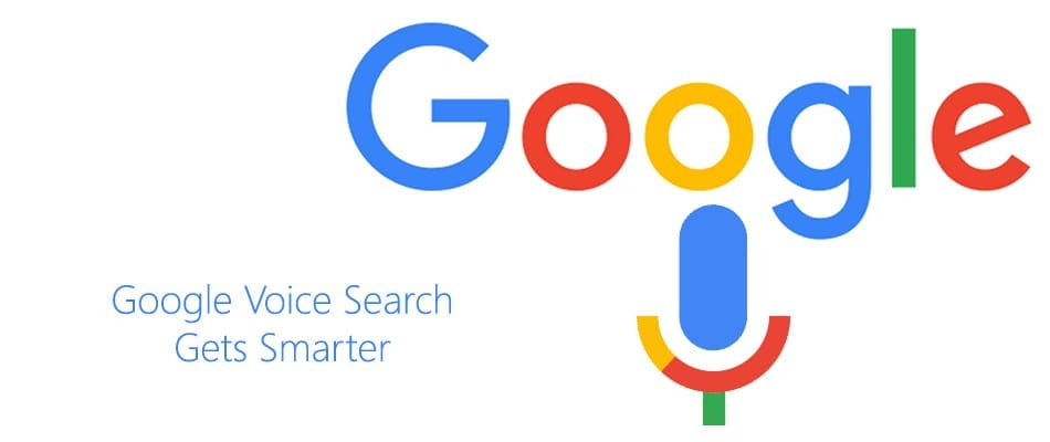 Logo de Google Voice Search