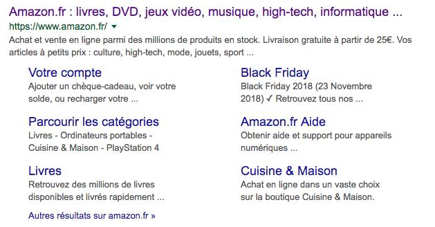 URL Amazon