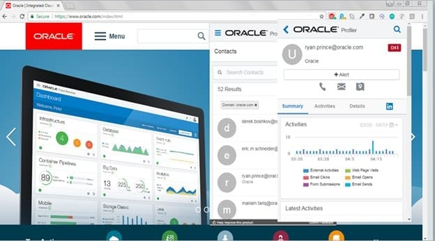 Oracle Marketing Cloud Solutions ABM tools add-ons