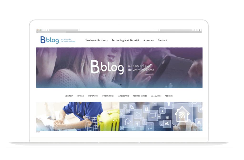 """Blog Bblog présenté par Pierre-Antoine THIEBAUT au Matinale BtoB """"content & social"""""""