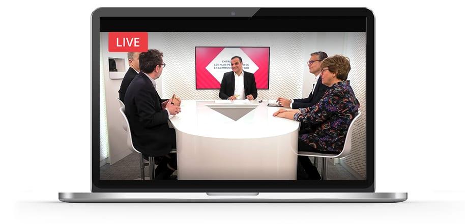 20 minutes en plateau TV, diffusées en direct depuis le Studio Victoires.