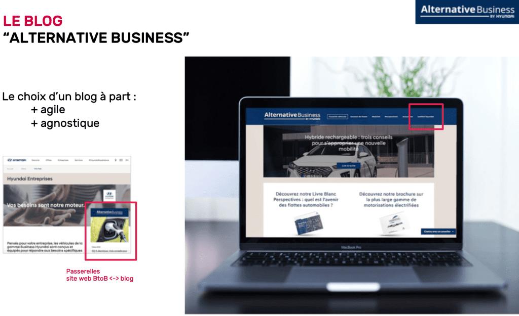 Visuel du Blog dédié Hyundai