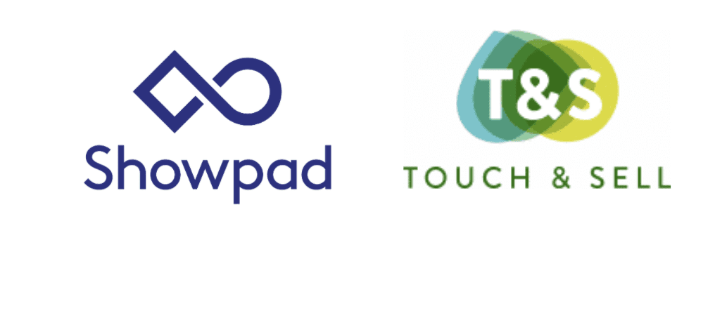 Showpad Touch & sell