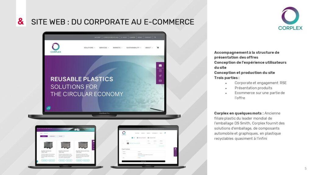 Image Site web Corplex